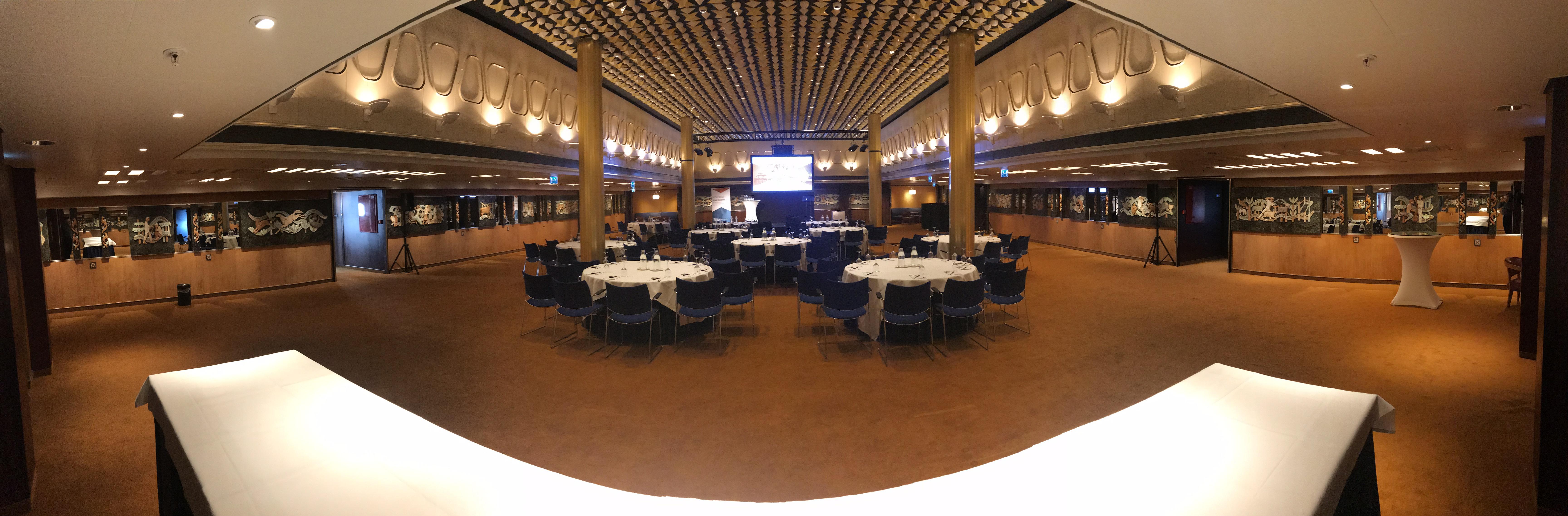 SS Rotterdam La Fontaine Room
